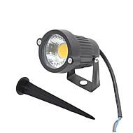 LEDフラッドライト 回転可能 1 COB 300-400 lm 温白色 クールホワイト レッド ブルー グリーン AC 85-265 DC 12 AC 12 V 1個