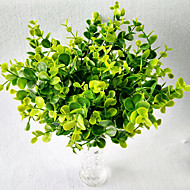 10 Ramo Plástico Toque real Outras Plantas Flor de Mesa Flores artificiais