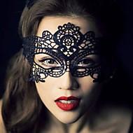 1kpl kuuma myynti musta seksikäs nainen pitsi naamio silmän naamio naamiaiset osapuoli fancy mekko puku / halloween osapuoli fancy