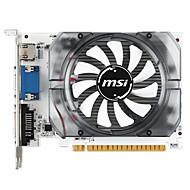 MSI ビデオグラフィックスカード GT730 2560*1600 2GB/128ビット GDDR3