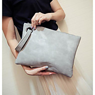 Women Bags All Seasons PU Clutch with for Casual Outdoor Black Red Gray