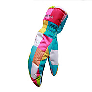 Luvas de esqui Adolescente Luvas Esportivas Manter Quente Esqui Skate Luvas de Inverno Inverno