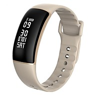 Smart armbånd Vandafvisende Lang Standby Brændte kalorier Skridttællere Stemmestyring Træningslog Sport Pulsmåler Touch Screen Distance