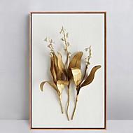 A fleurs/Botanique Peinture à l'huile encadrée Art mural,Polystyrène Matériel Avec Cadre For Décoration d'intérieur Cadre ArtSalle de