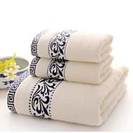 Badehandtuch,Gestreift Gute Qualität 100% Baumwolle Handtuch