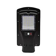 30w casa rural solar led controle remoto lâmpada de rua sensor de corpo lâmpada de rua