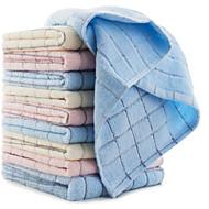 Toalha de Lavar,Xadrez Alta qualidade 100% Algodão Toalha