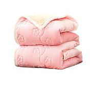 Coral Fleece Tukeva Polyester/puuvillaseos peitot