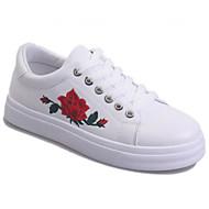Dames Sneakers Comfortabel Carbonvezel Lente Causaal Wit Zwart Plat