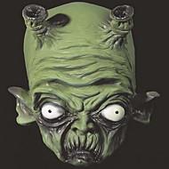Máscaras de Halloween máscaras de mufla máscara suprimentos de festa suportes máscara de bruxa verde