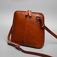 Damen Taschen Ganzjährig Kuhfell Umhängetasche mit für Normal Schwarz Rote Braun