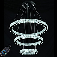 Stmívatelné led osvětlení vnitřní moderní stropní závěs světlo lustry svítidla s dálkovým ovládáním