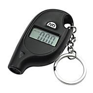 Digital dæktryksmåler nøgleringskæde