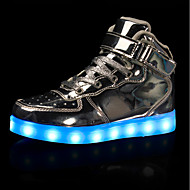 Fille Baskets Chaussures Lumineuses Confort PU de microfibre synthétique Automne Hiver Décontracté Soirée & EvénementLa boucle du crochet