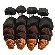 Ombre Włosy brazylijskie Luźne fale 6 miesięcy 4 sploty włosów kg Szybkie fale