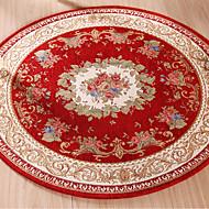 tapete jacquard redondo tapete piso de absorção de água tapete sólido e confortável para quarto sala sala