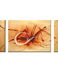 3-pc Handmade Abstract Painting Close Down Stretched Ready to Hang (0192-SZH334)