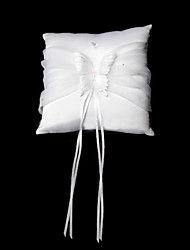 Butterfly Dreams Satin Wedding Ring Bearer Pillow