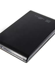 """ultra-mince 2,5 """"SATA USB 2.0 boîtier disque dur avec étui souple"""