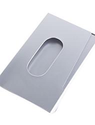 elegante de metal cartão de visita caso