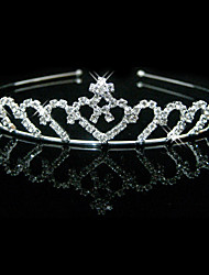 Gorgeous Clear Crystals Wedding Tiara