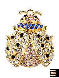 Luxurious Coccinella Septempunctata Jewelry USB Flash Drive - Optional Memory From 2 GB to 16 GB (SMQ4636)
