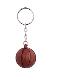 Big Black DiceStyle Keychain with Soft Plastic Material