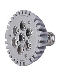 Focos LED PAR30 E26/E27 7W 7 LED de Alta Potencia 600 LM Blanco Fresco AC 85-265 V