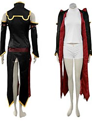 Inspired by Code Gease C.C. Anime Cosplay Costumes Cosplay Suits Patchwork Black SleevelessVest / Dress / Shorts / Sleeves / Armlet /