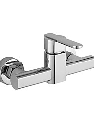 mitigeur chromée de fixation murale robinet de douche 1018-lk-2024