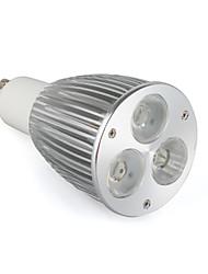 GU10 6 W 3 Высокомощный LED 520 LM Тёплый белый / Естественный белый / Холодный белый Точечный свет AC 85-265 V