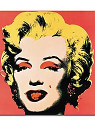 ручная роспись живопись маслом на marklyn Монро с вытянутыми кадра