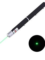 Puntero Láser Verde con Forma de Bolígrafo 5mW 532nm (2xAAA)