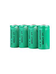 LC 17333 3.0v 1000mAh перезаряжаемые батареи (hb013)