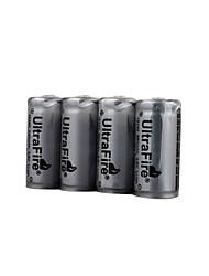 Ultrafire 16340 3.6V Batteries (HB009)