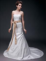 de mariage en satin / mariée ceinture ruban (0251-71723)