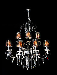 maishang® fer 12-lumière lustre en cristal (1069-ml-2100146-8 + 4d