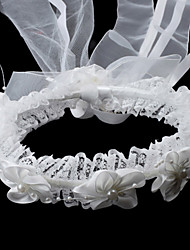 Flower Girl's Satin/Imitation Pearl Headpiece - Wedding/Special Occasion Headbands