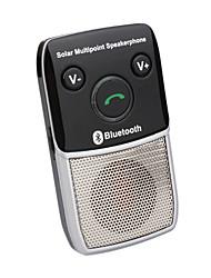 Solar Bluetooth Freisprechfunktion Car Kit-Mehrpunkt-Freisprecheinrichtung (szc6244)