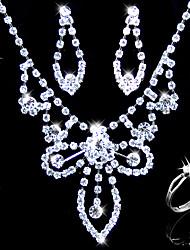 liga lindo com strass jóia do casamento noivas set (0986-l20111211491)