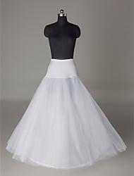 Nylon A-Line Full Gown 2 Tier Floor-length Slip Style/ Wedding Petticoats