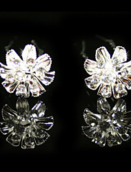 Rhinestones Wedding Bridal Pins/ Flowers,2 Pieces