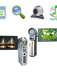 "HD 1280*720@30FPS 5MP 8XDigital Zoom Digital Video Camera with 3.0"" LCD Screen MP3 PC Camera TV Out Function (HD-613)"