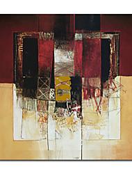 ручная роспись абстрактной живописи маслом с растянутыми кадра