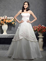 Lanting Bride® A-line / Princess Petite / Plus Sizes Wedding Dress - Classic & Timeless / Chic & Modern / ReceptionWedding Dresses in