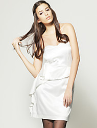 TS Frills Bare Back Sleeveless Dress