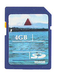 Carte de 4 Go de mémoire SD
