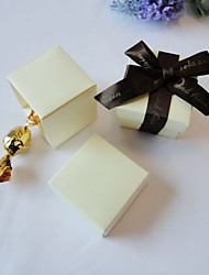 24 Piece/Set Favor Holder-Cubic Card Paper Favor Boxes Non-personalised