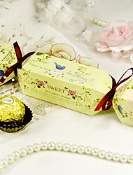 """""""Sweet Spring"""" Candy Wrapper Favor Box (Set of 12)"""