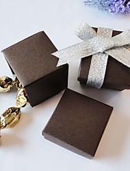 Chocolate Box favor quadrado (conjunto de 24)